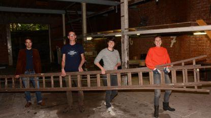 Eerste gebouwen vrijgegeven voor herbestemming: vrijwilligers blazen atelier De Nijs terug leven in na dertig jaar leegstand