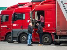 Negatief reisadvies, maar de vrachtwagenchauffeurs moeten van code oranje naar code oranje