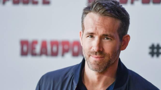"""Ryan Reynolds neemt 400 videoboodschappen op voor crewleden 'Red Notice': """"Zelfs voor hun honden"""""""