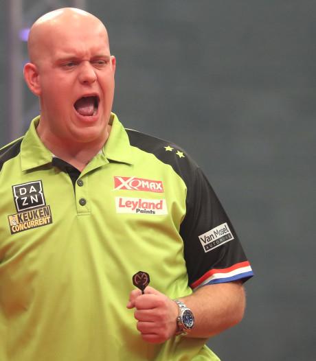 Gunstige loting Van Gerwen bij Grand Slam of Darts