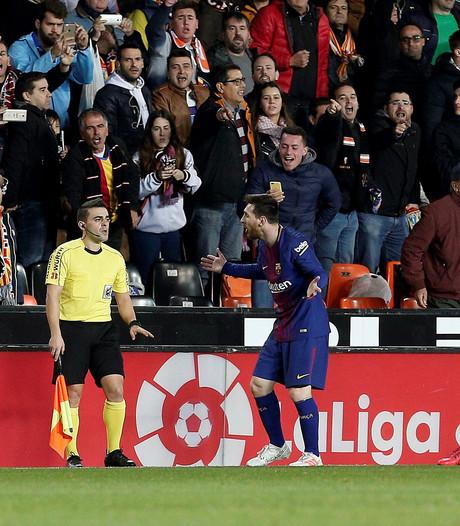 Spaans wedkantoor telt spookgoal Messi en keert winst uit