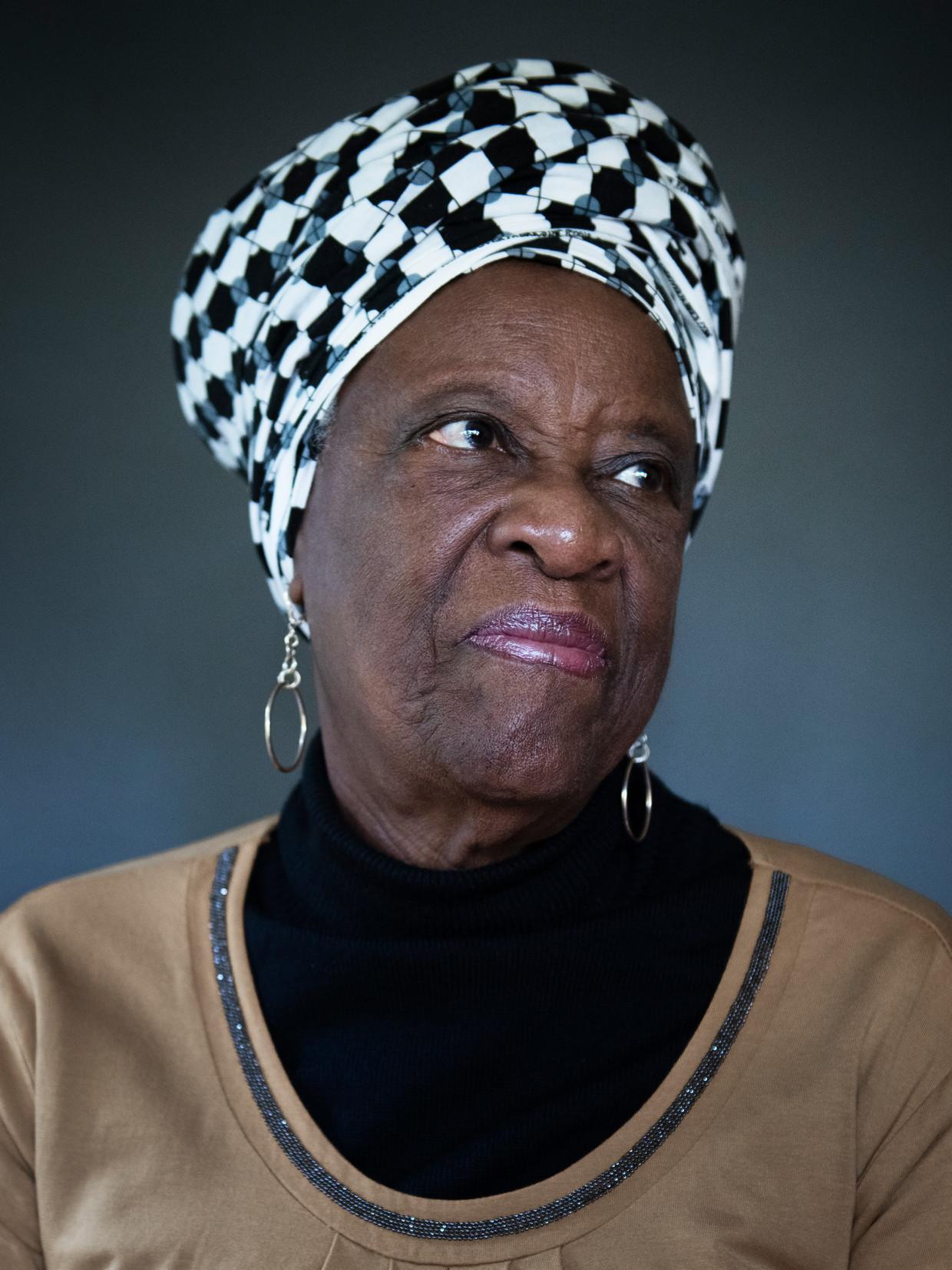 Maria Liberia-Peters: 'Ik dacht: als dit een overwinning wordt, dan zal die voor iedereen zijn, als het een nederlaag wordt, zal het de mijne zijn.' Beeld Kiki Groot