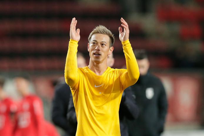 Keisuke Honda zwaait na amper twee maanden af bij Vitesse.