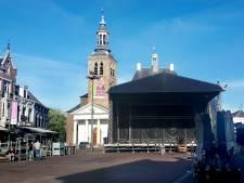Horeca in Roosendaal schrikt van enorm podium voor feestweek