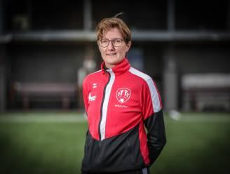 """Trainster An Jacobs (FC Alken): """"Sinds de promotie naar tweede nationale speelden we slechts drie wedstrijden. De meisjes missen het voetbal enorm"""""""