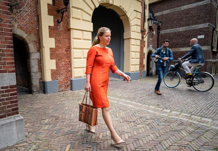 Minister Carola Schouten van Landbouw is de kop van Jut. Beeld Hollandse Hoogte/ANP