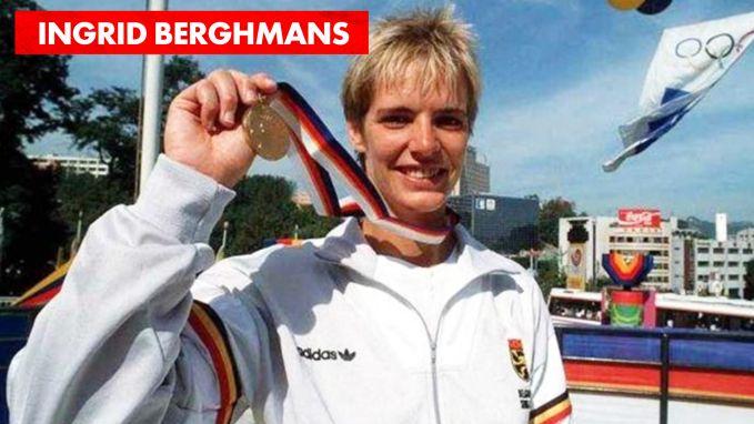 Hoe is het nog met Ingrid Berghmans? Vroeger sportvrouw van de eeuw en nu uitbaatster van een fitnesscentrum.
