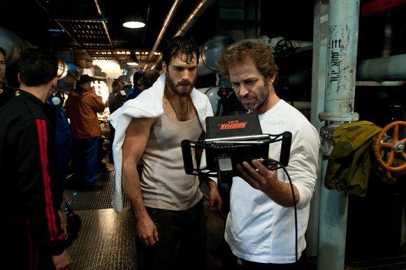 Henry Cavill en regisseur Zack Snyder