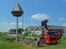 Hightech huisje voor vleermuizen in Puttershoek