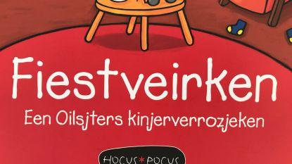 'Fiestveirken': Het eerste kinderboek van Kathleen Amant in 't Oilsjters