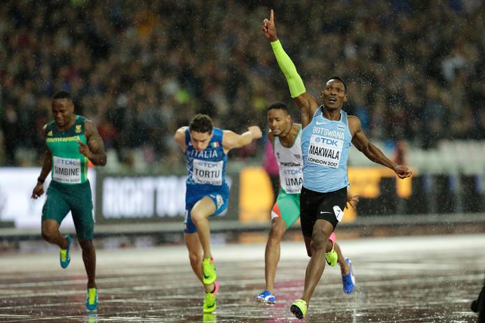 Isaac Makwala weet het: hij plaatst zich voor de finale.