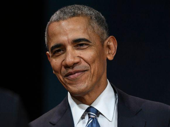 Barack Obama begin december vorig jaar in Parijs.
