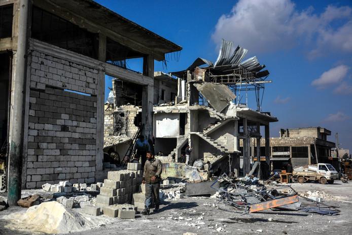 Chaos in Idlib.