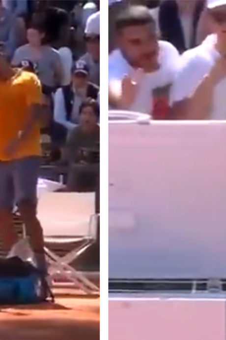 Jeu de pénalité, chaise balancée: fou de rage, Kyrgios craque et s'auto-disqualifie