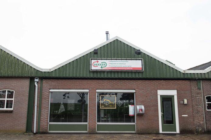 Maatschap Dekker in Den Ham mag in de toekomst niet meer puinbreken.