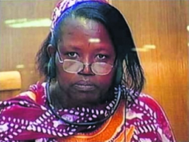 Pauline Nyiramasuhuko. Beeld