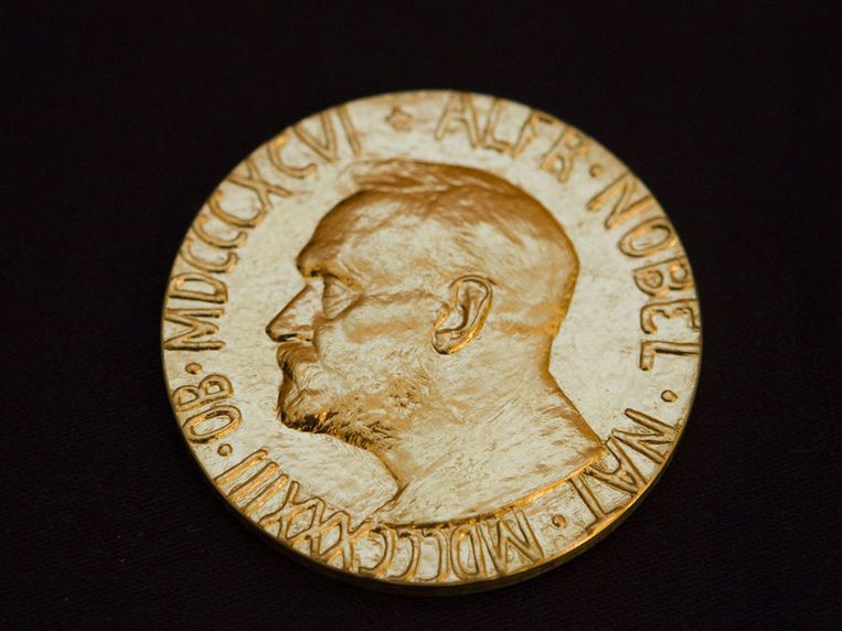 De Nobelprijs voor de vrede. Beeld epa