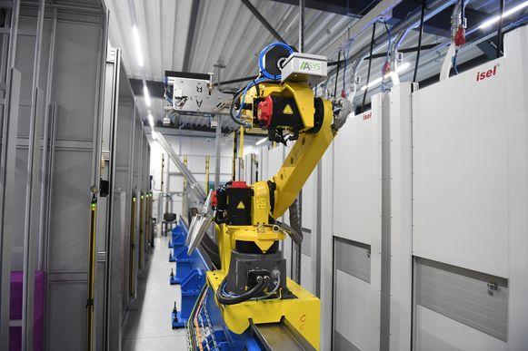 De nieuwe robot bij BORGinsole