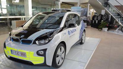 Na London, Praag en Milaan rijdt nu ook eerste Belgische politiezone met elektrische BMW I3's