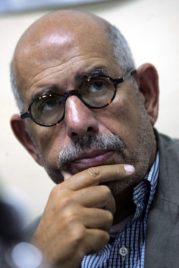 Mohamed El-Baradei. Beeld null