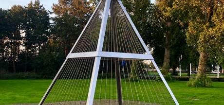 Verrassingspiramide in Waalwijk: 'Wat is dit voor bouwsel?'