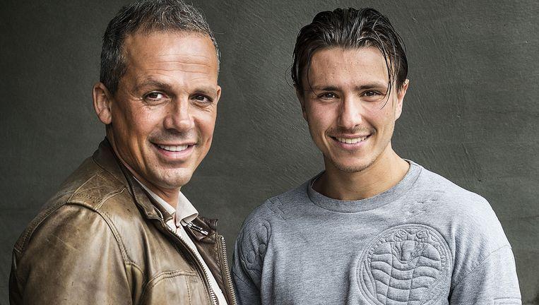 Max Huiberts (rechts) en José Fortes Rodriguez. Beeld Guus Dubbelman / de Volkskrant