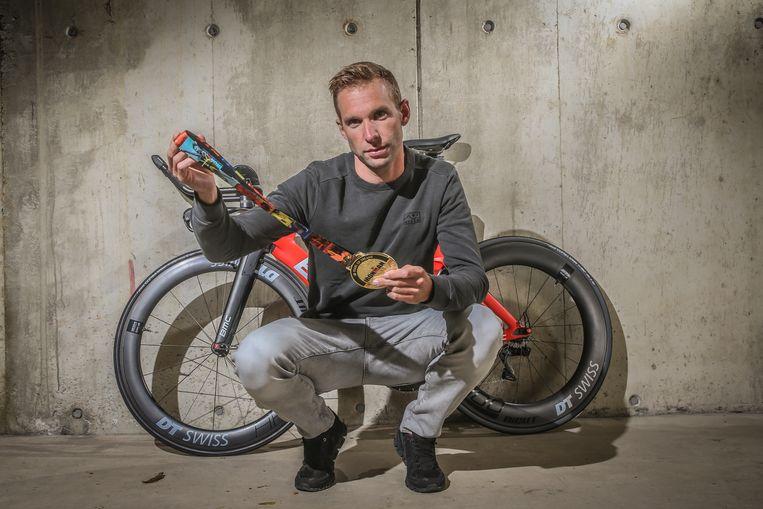 De tweede man ooit die onder de acht uur ging in Hawaï en tevens tweede in de Ironman van 2018: Bart Aernouts.