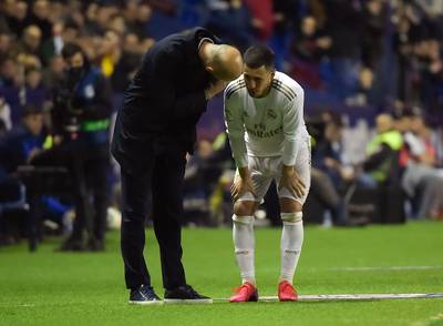"""Le rêve d'Eden Hazard vire au cauchemar"""