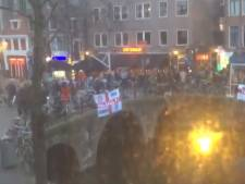 Engelse supporters aangehouden in Amsterdam