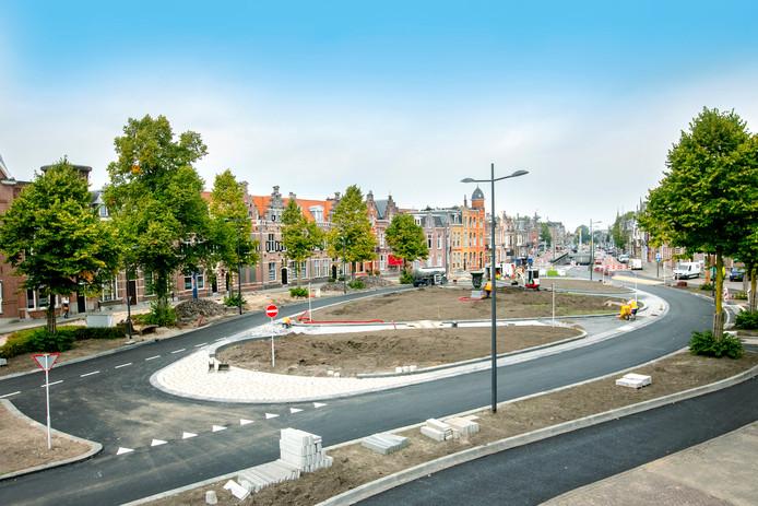 Het Julianaplein is sals ovonde weer snel toegankelijk.