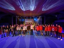 Feestelijk sportgala in sporthal 't Wooldrik in Borne