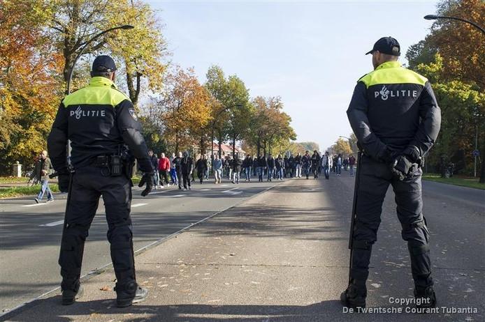 De gemeente maakte onder meer kosten voor politie-inzet tijdens demonstraties.