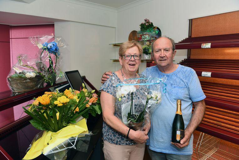 Astrid en Richard stoppen met hun bakkerij Huts in Nieuwrode.