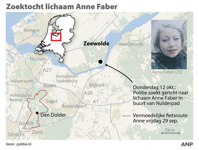Zoektocht Anne Faber