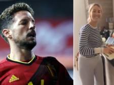 Dries Mertens pousse la chansonnette pour sa femme