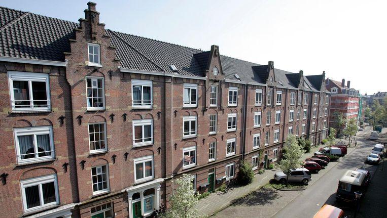 De Van Heemskerckstraat in de Zeeheldenbuurt in Amsterdam. Beeld anp