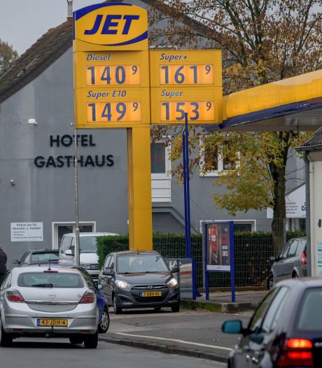 Voor volle tank naar Duitsland: scheelt dat nog?