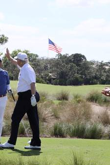 Golfgedrag Donald Trump onder vergrootglas