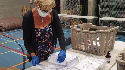Wijnegem gestart met bedeling van 13.000 herbruikbare mondmaskers