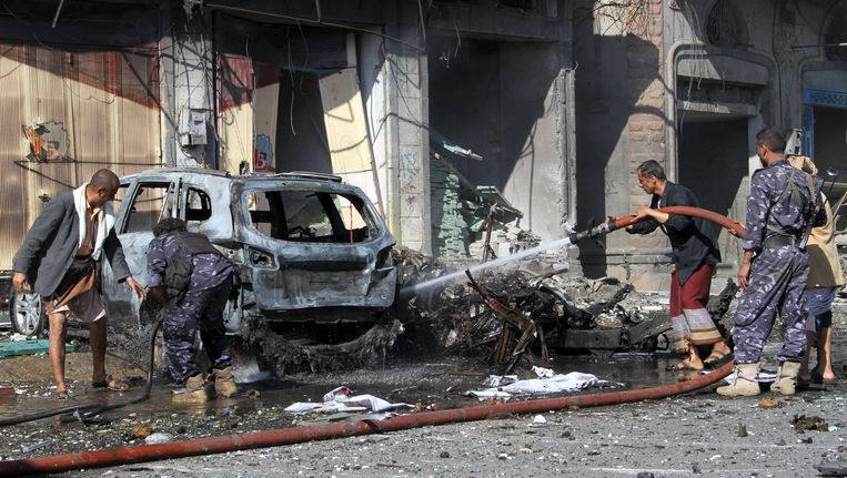 Op 1 november ontplofte ook een bomauto in de jemenitische stad Ibb.