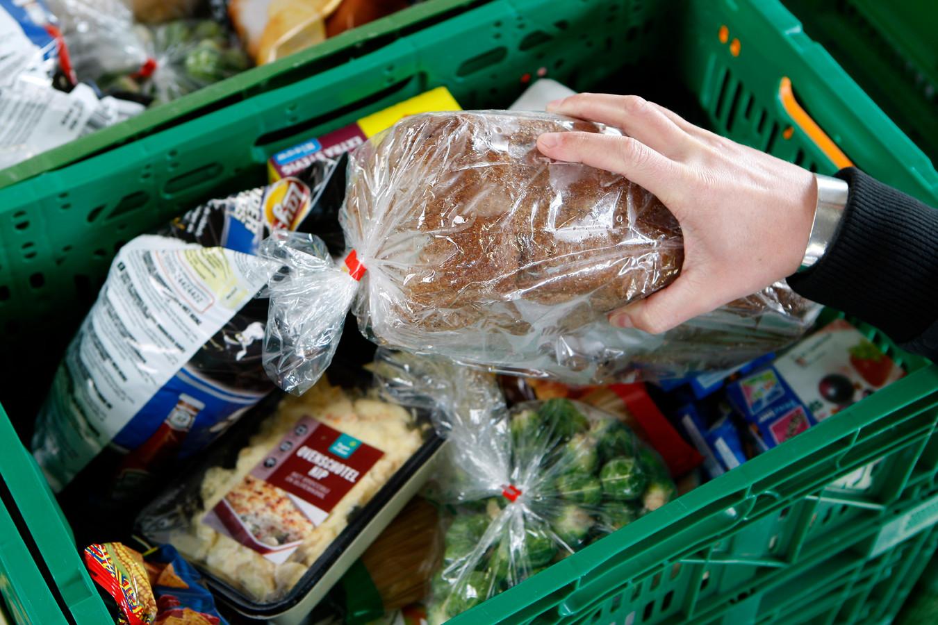 Een voedselpakket. Foto ter illustratie.