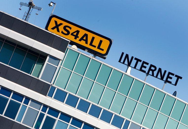 Het hoofdkantoor van Xs4all op Sloterdijk Beeld anp