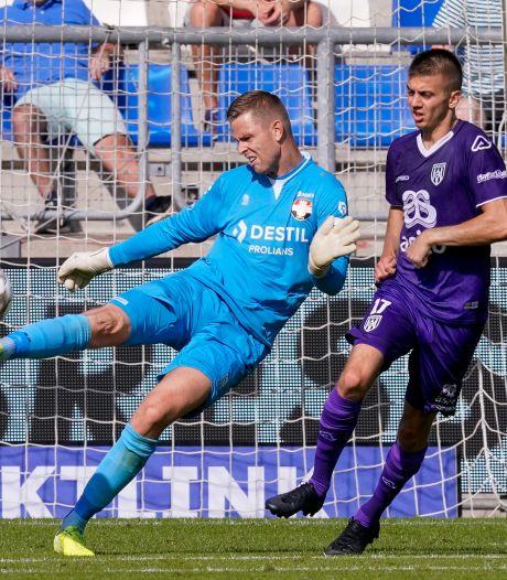 Willem II-keeper Robbin Ruiter: 'Zeker als het goed gaat, moet ik coachen'