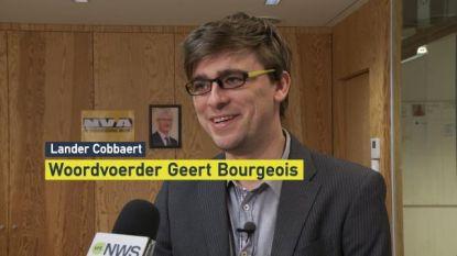 """Woordvoerder DIW over stoelendans bij N-VA: """"Nieuwe bijnaam voor Geert Bourgeois, 'Genegeerd Bourgeois'"""""""