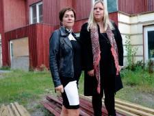 Twee stellen zetten onaf huis Van Sleenstraat te koop