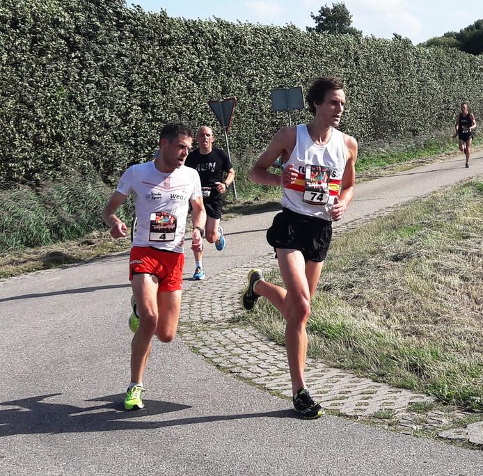 Tim Pleijte en Maarten de Nys (B) in Wolphaartsdijk