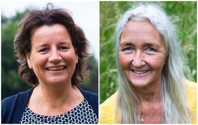 Auteurs Greet Vonk (l.) en Anja Jongkind.