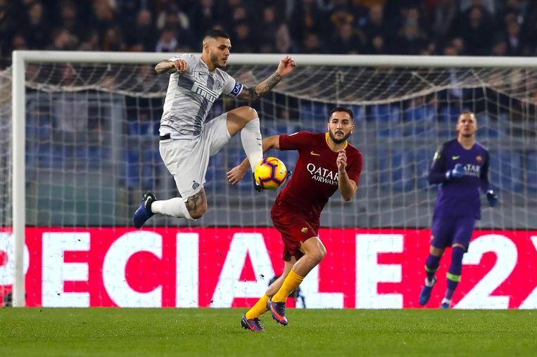 Icardi scoorde de 1-2.