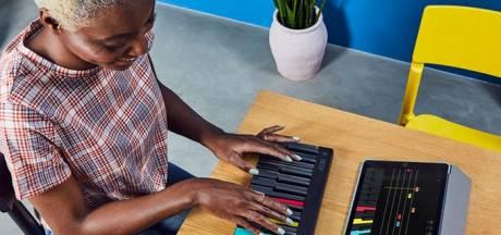 Met dit draagbare keyboard kun je overal piano leren spelen
