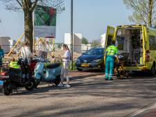 Scooterrijdster hard ten val in Oss